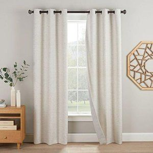 Blackout curtains 95″ L x 38″ (76″ W) grommet top